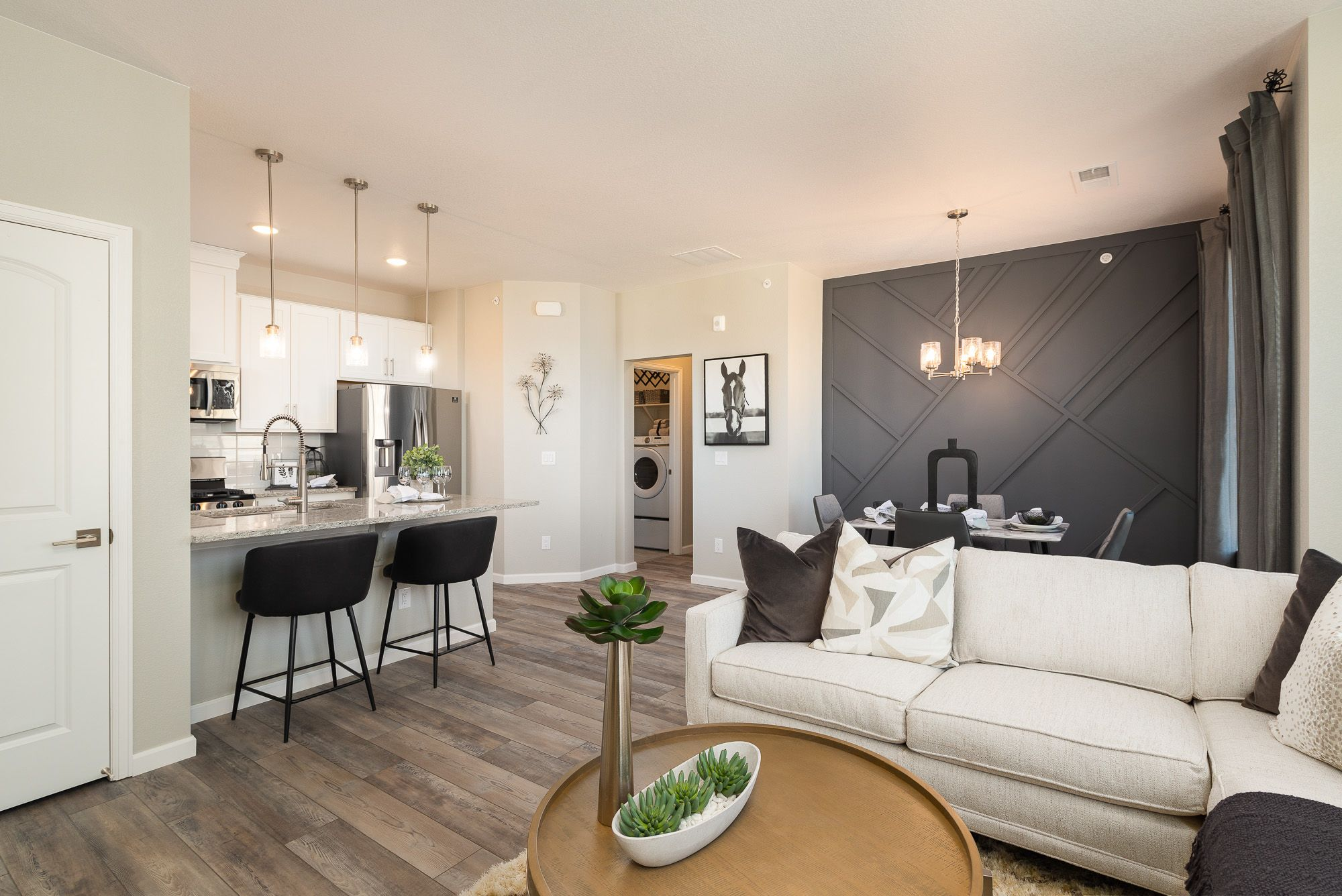 Living Area featured in the Aiden By Lokal Homes in Denver, CO