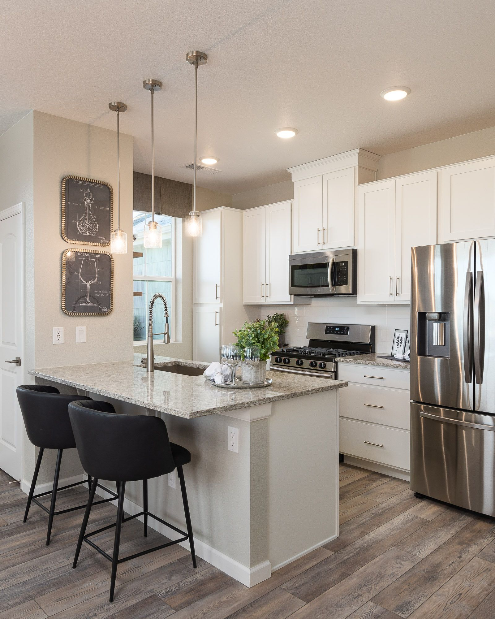 Kitchen featured in the Aiden By Lokal Homes in Denver, CO