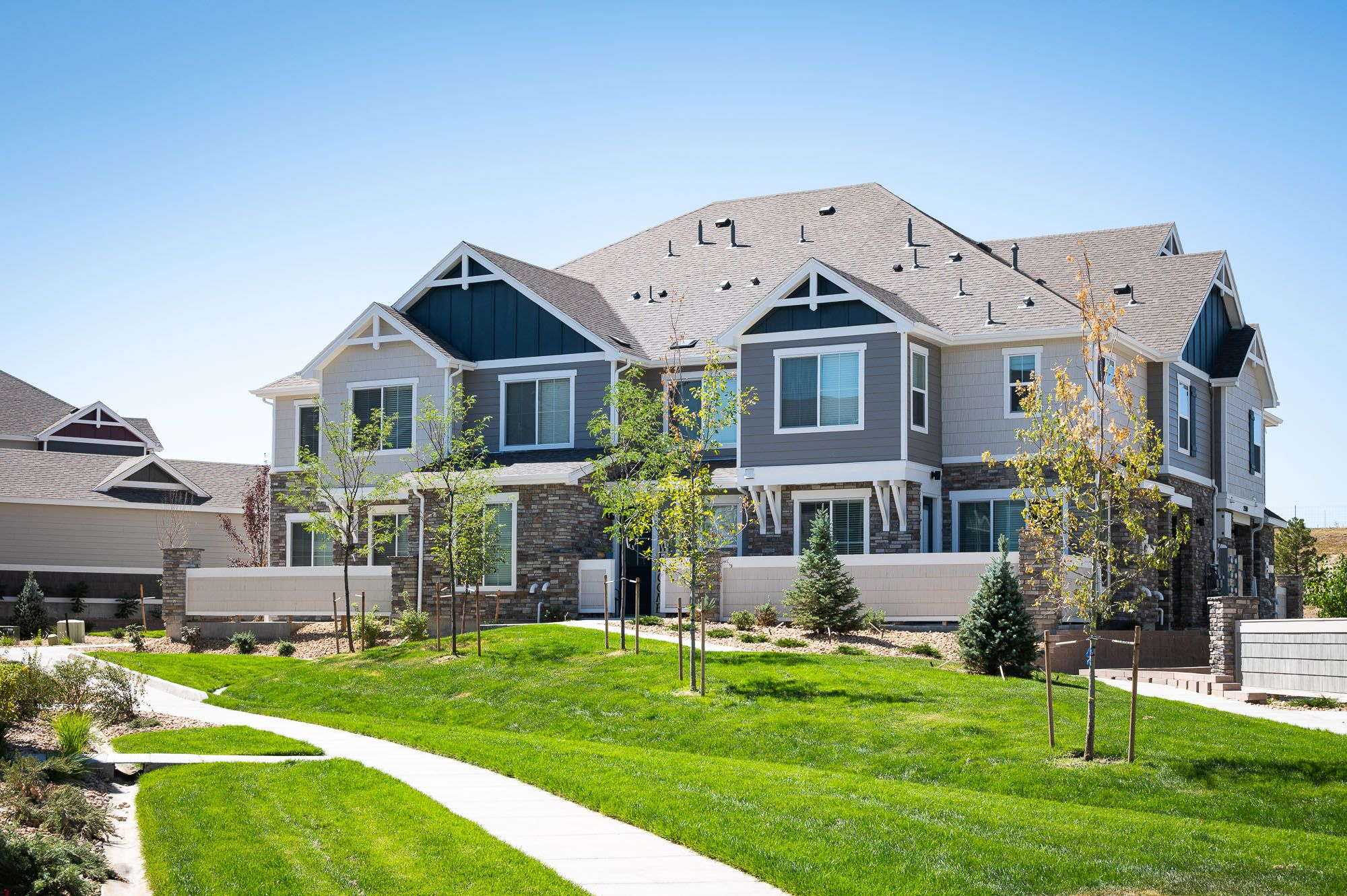 Exterior featured in the Aiden By Lokal Homes in Denver, CO