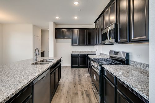 Kitchen-in-The Thomas-at-The Villas at Wheatlands-in-Aurora