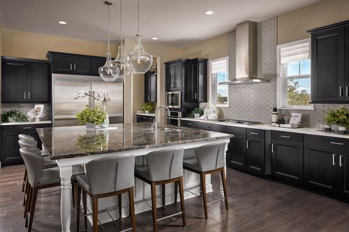 Kitchen-in-The Dylan-at-Two Bridges-in-Franktown