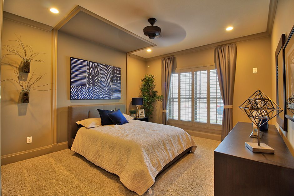Bedroom featured in The Villanueva By Lombardo  in St. Louis, MO