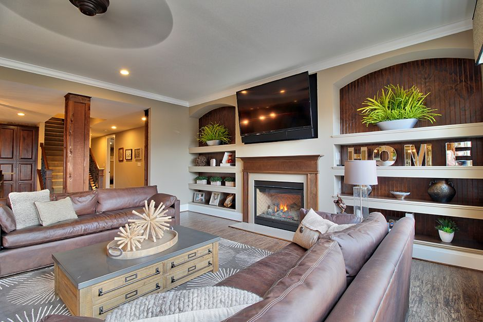 Living Area featured in The Villanueva By Lombardo  in St. Louis, MO