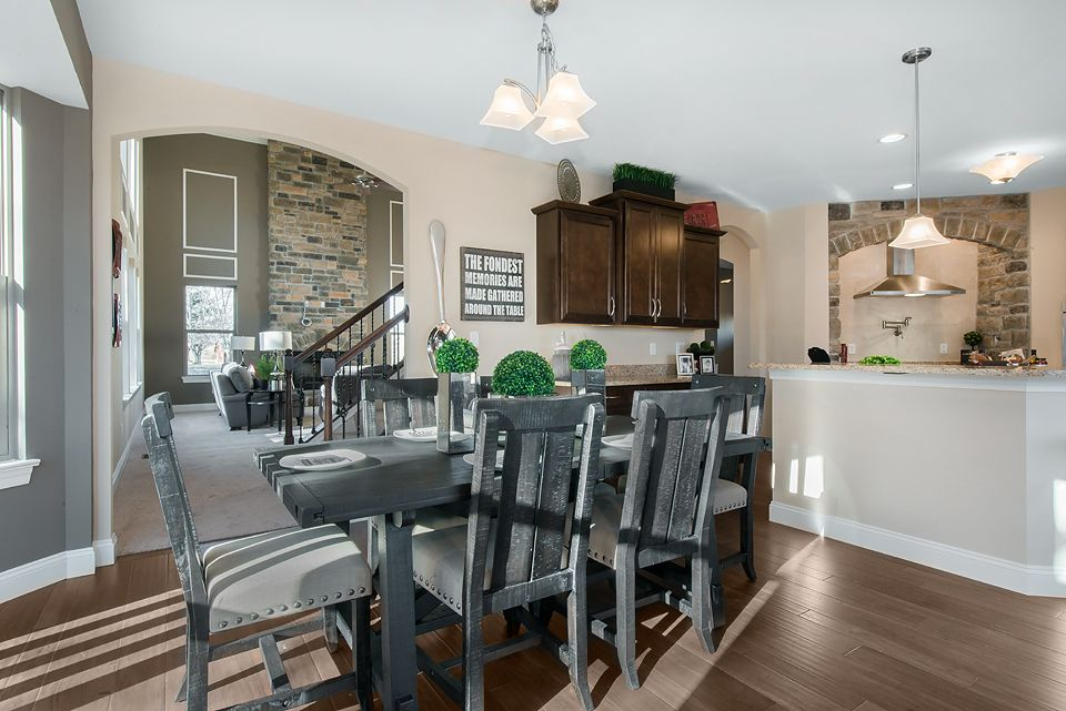 Kitchen-in-The Denali II-at-Legacy at Patriot's Ridge-in-Cottleville