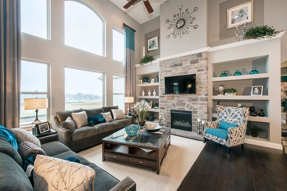 Living Area featured in The Rainier By Lombardo  in St. Louis, MO