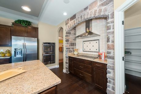 Kitchen-in-The Forest-at-East Hampton Woods-in-Wentzville