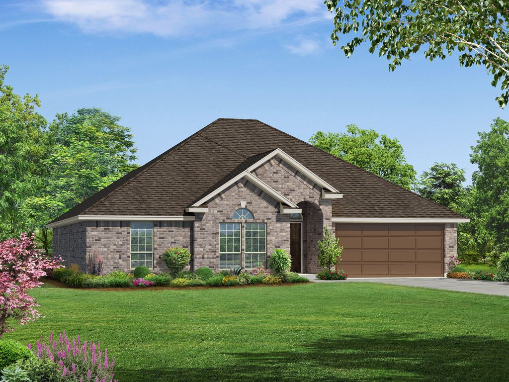 Trinity home plan by riverside homebuilders in riatta bend for Trinity home builders