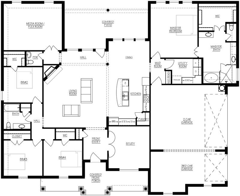 Sabine floorplan
