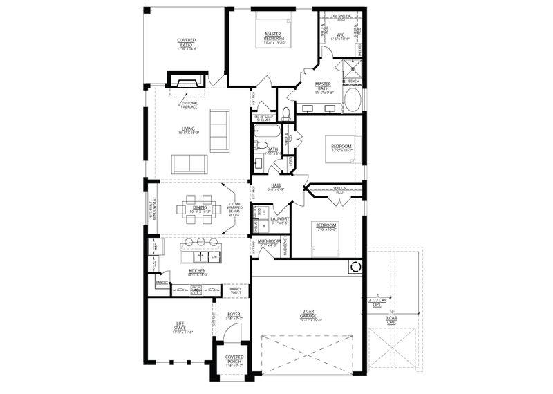 San Gabriel Floorplan
