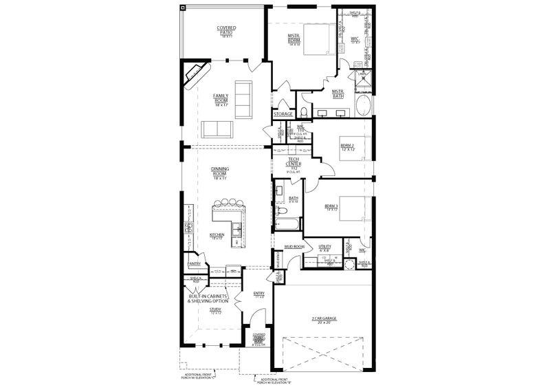 San Saba Floorplan