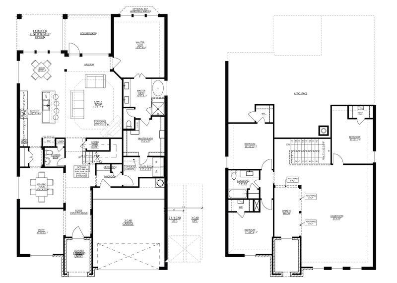 San Jacinto Floorplan