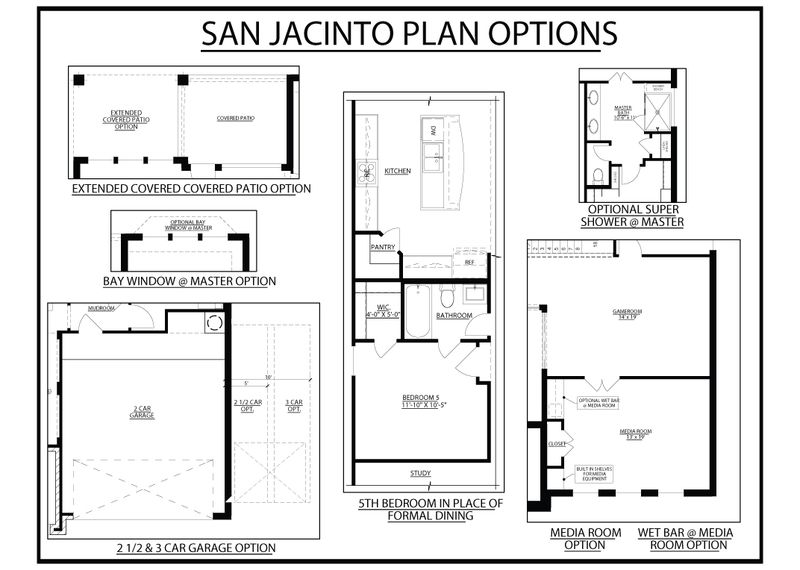 San Jacinto Plan Options