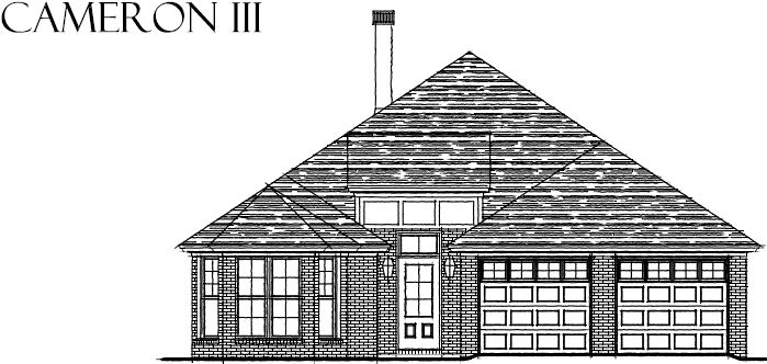 Exterior featured in the Cameron - StoneyBrooke Plantation By Lowder New Homes in Montgomery, AL