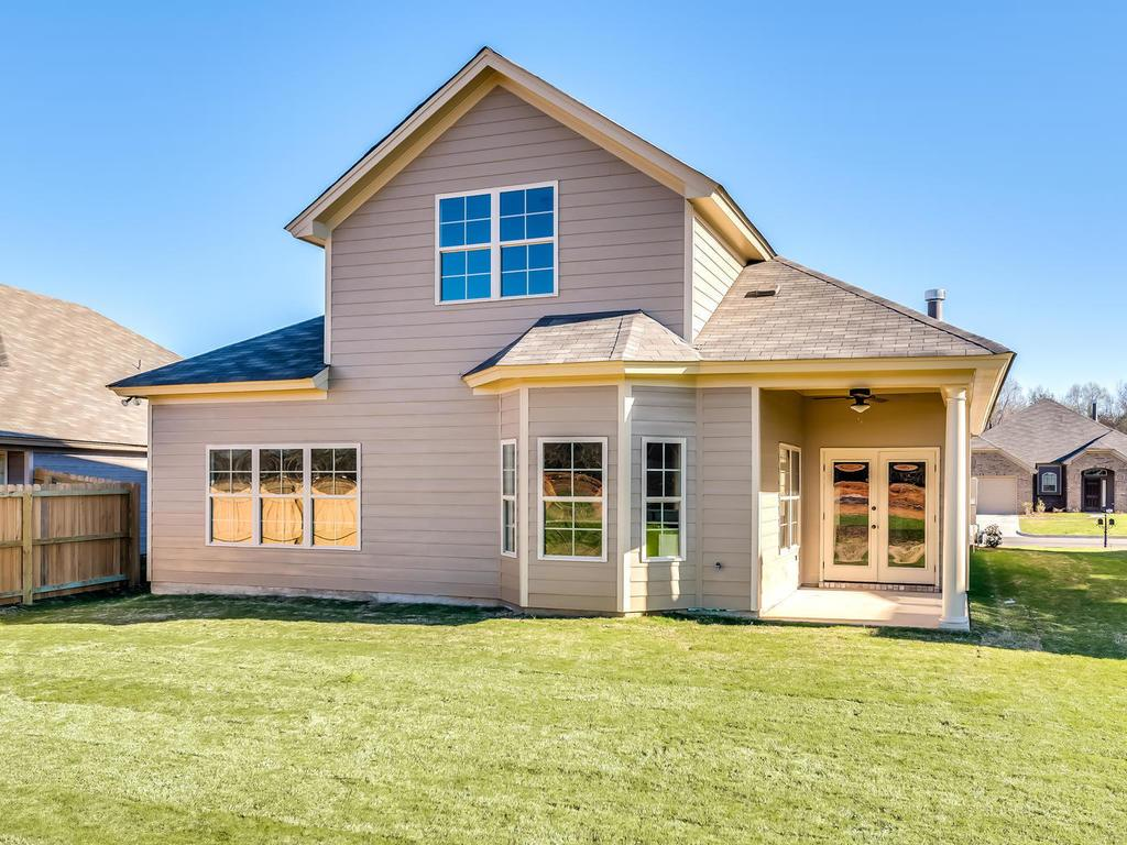 Exterior featured in the Dover - StoneyBrooke Plantation By Lowder New Homes in Montgomery, AL