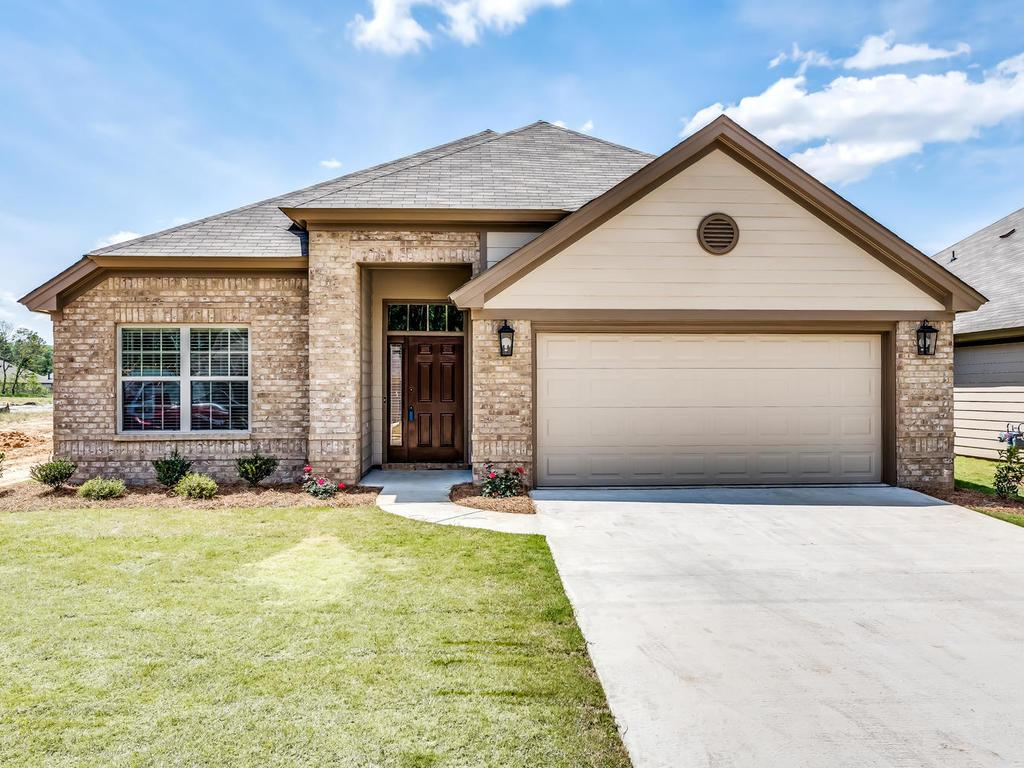 Exterior featured in the Belmont - StoneyBrooke Plantation By Lowder New Homes in Montgomery, AL