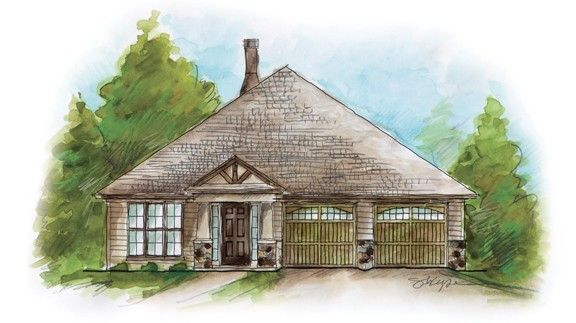 Exterior featured in the Tonto - Woodland Creek By Lowder New Homes in Montgomery, AL