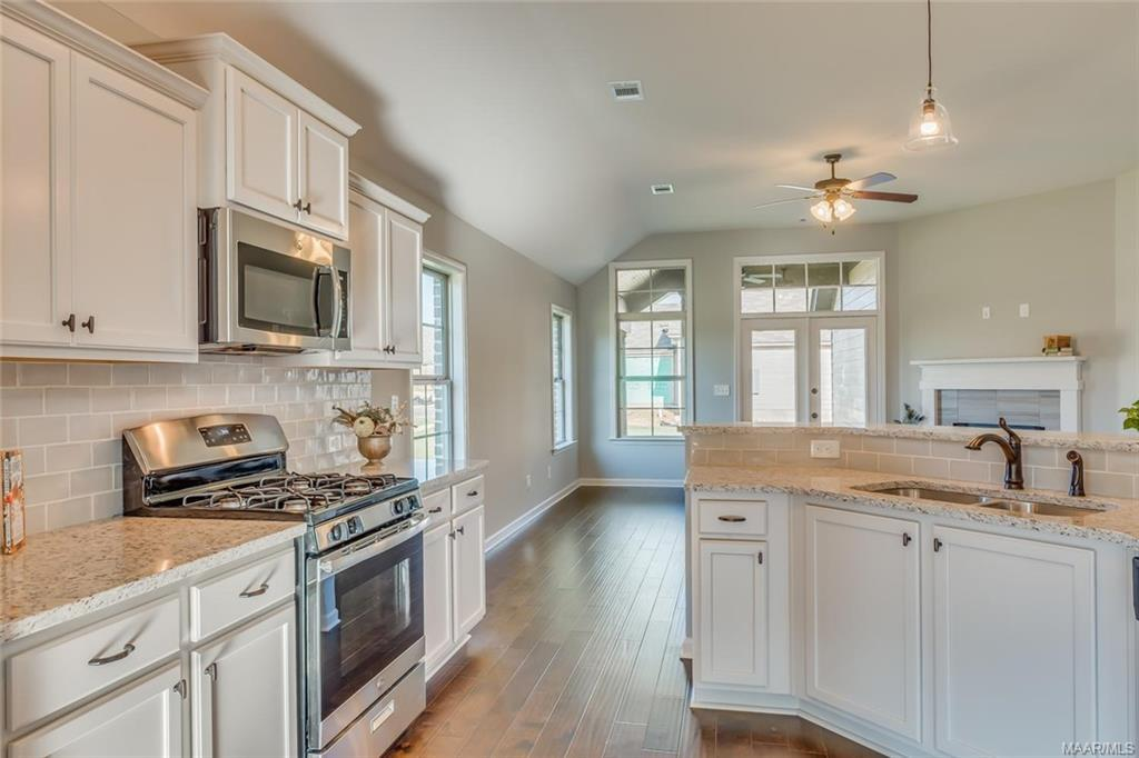 Kitchen featured in the Carlton - StoneyBrooke Plantation By Lowder New Homes in Montgomery, AL