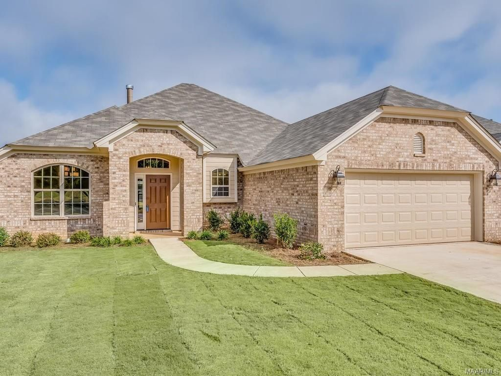 Exterior featured in the Newbury - StoneyBrooke Plantation By Lowder New Homes in Montgomery, AL