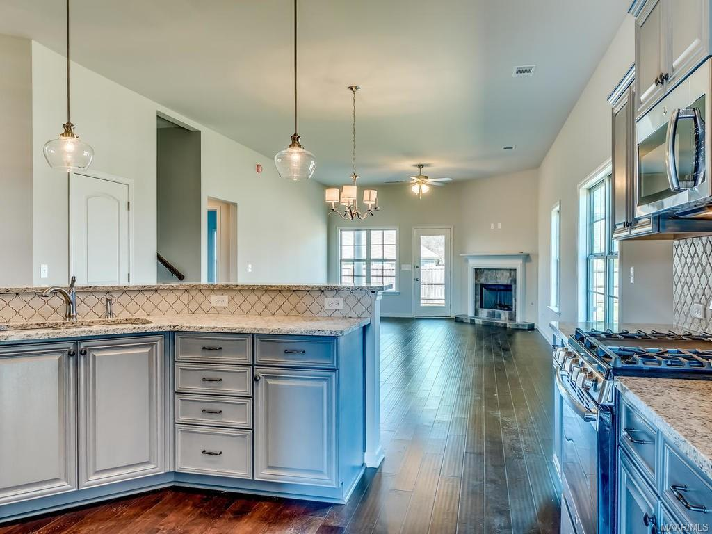 Kitchen featured in the Essex - StoneyBrooke Plantation By Lowder New Homes in Montgomery, AL