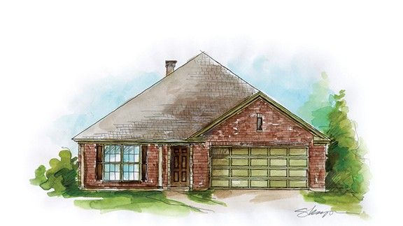 Exterior featured in the San Isabel - Woodland Creek By Lowder New Homes in Montgomery, AL