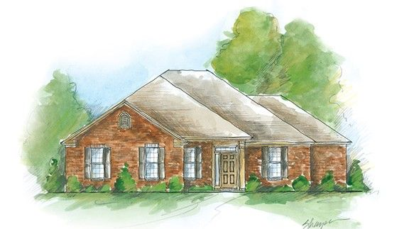 Exterior featured in the Osceola w/bonus - Woodland Creek By Lowder New Homes in Montgomery, AL
