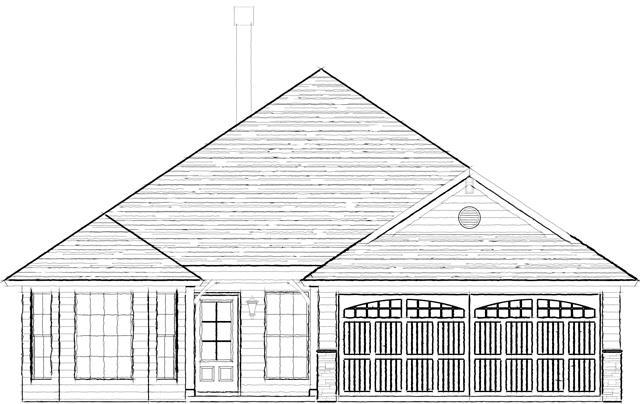 Exterior featured in the Red Rock Woodland Creek By Lowder New Homes in Montgomery, AL