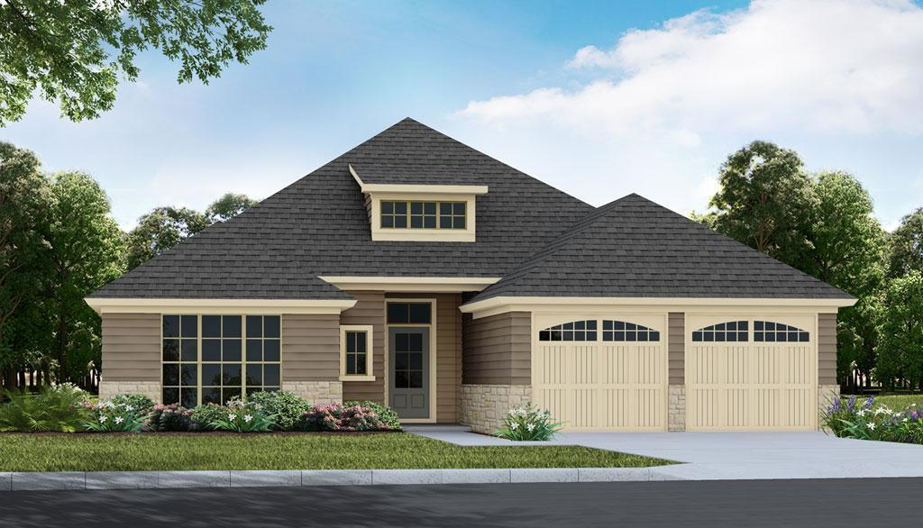 Exterior featured in the Chippewa - Woodland Creek By Lowder New Homes in Montgomery, AL