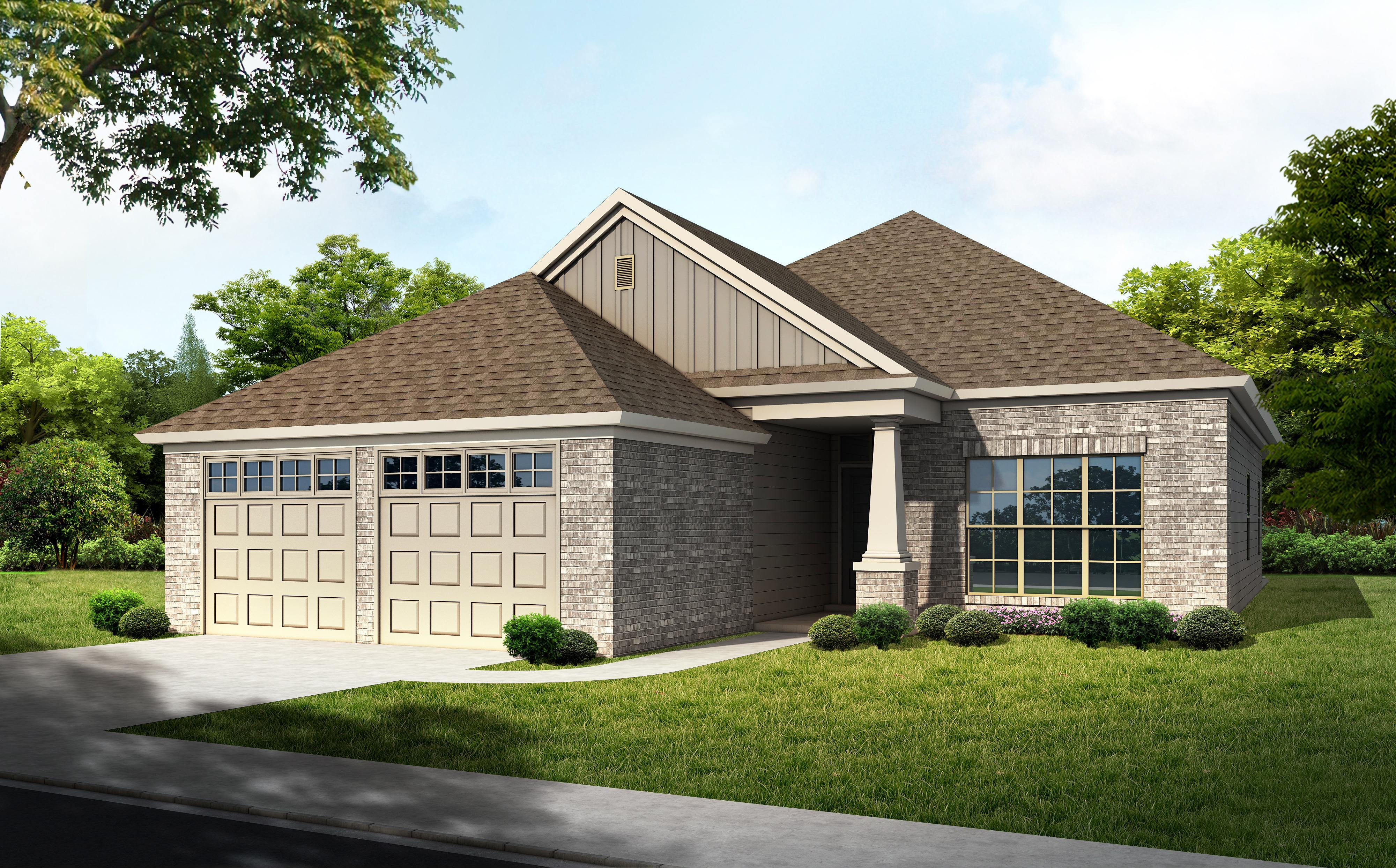 Exterior featured in the Lincoln - Woodland Creek By Lowder New Homes in Montgomery, AL