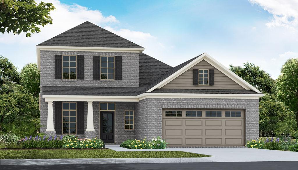 Exterior featured in the Lyndon - Woodland Creek By Lowder New Homes in Montgomery, AL