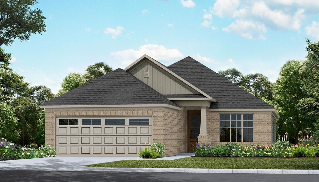 Exterior featured in the Pinnacle Woodland Creek By Lowder New Homes in Montgomery, AL