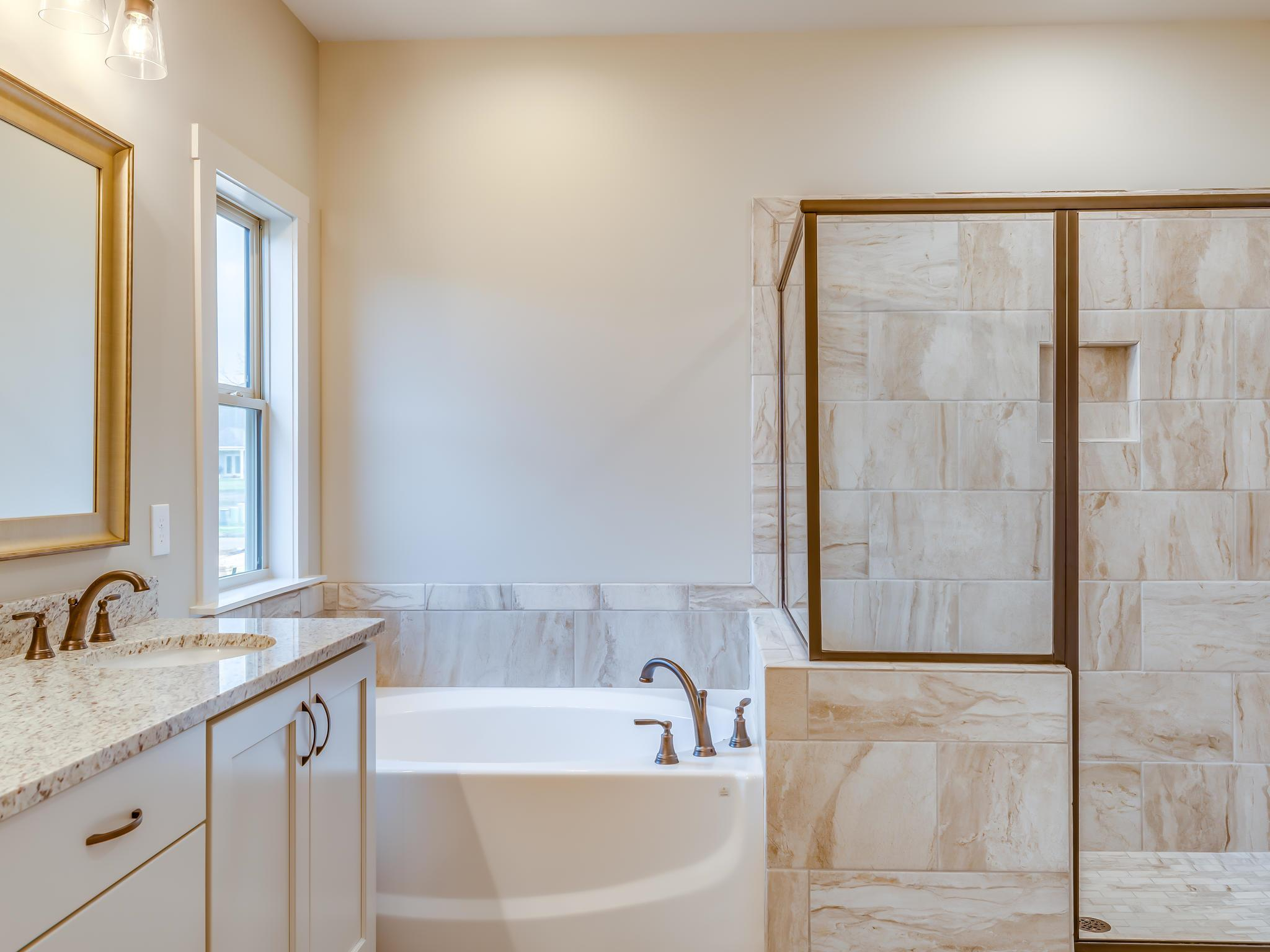 Bathroom featured in the Trenton New Park By Lowder New Homes in Montgomery, AL