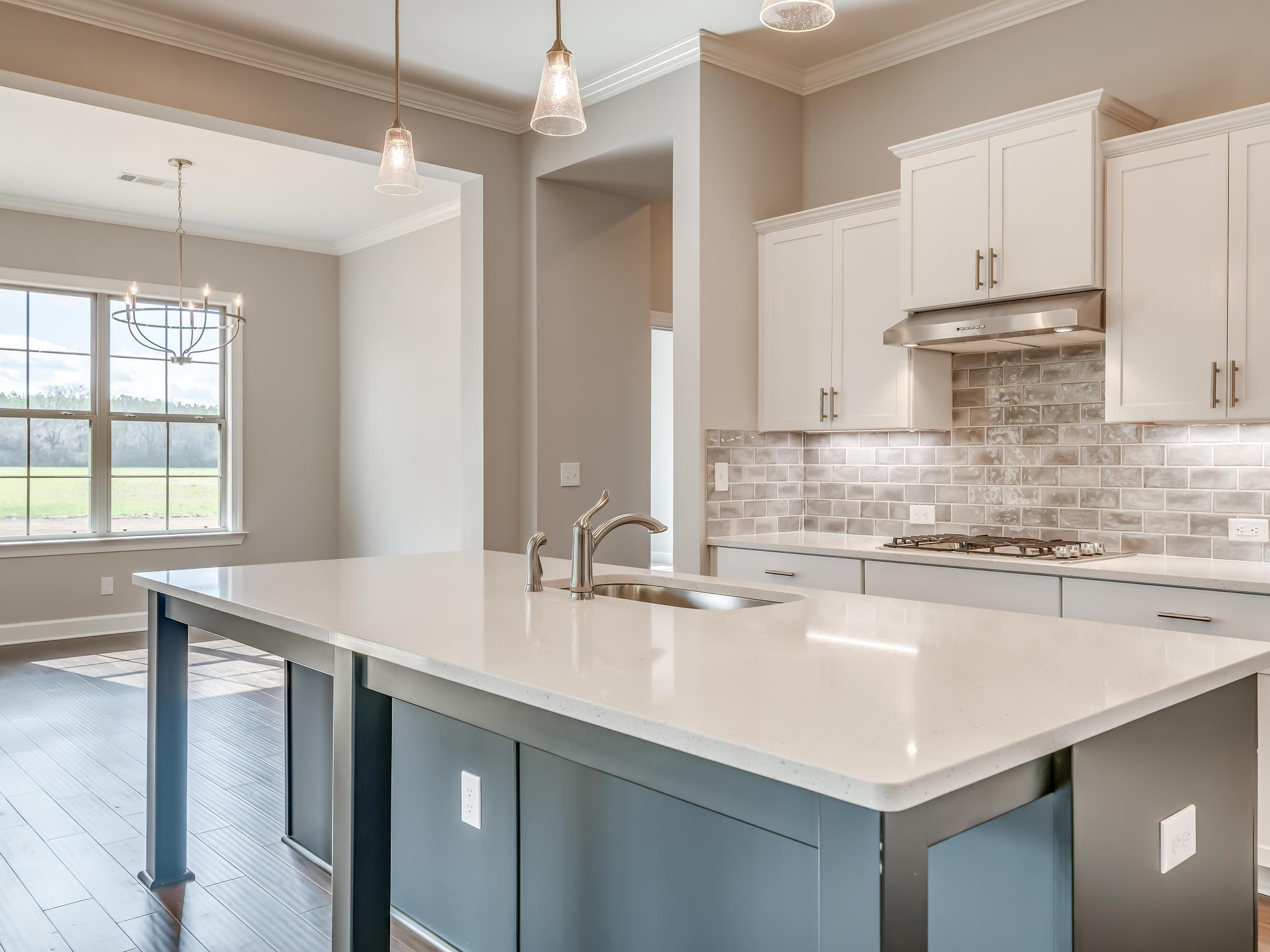 Kitchen featured in The Chinquapin Oak By Lowder New Homes in Montgomery, AL