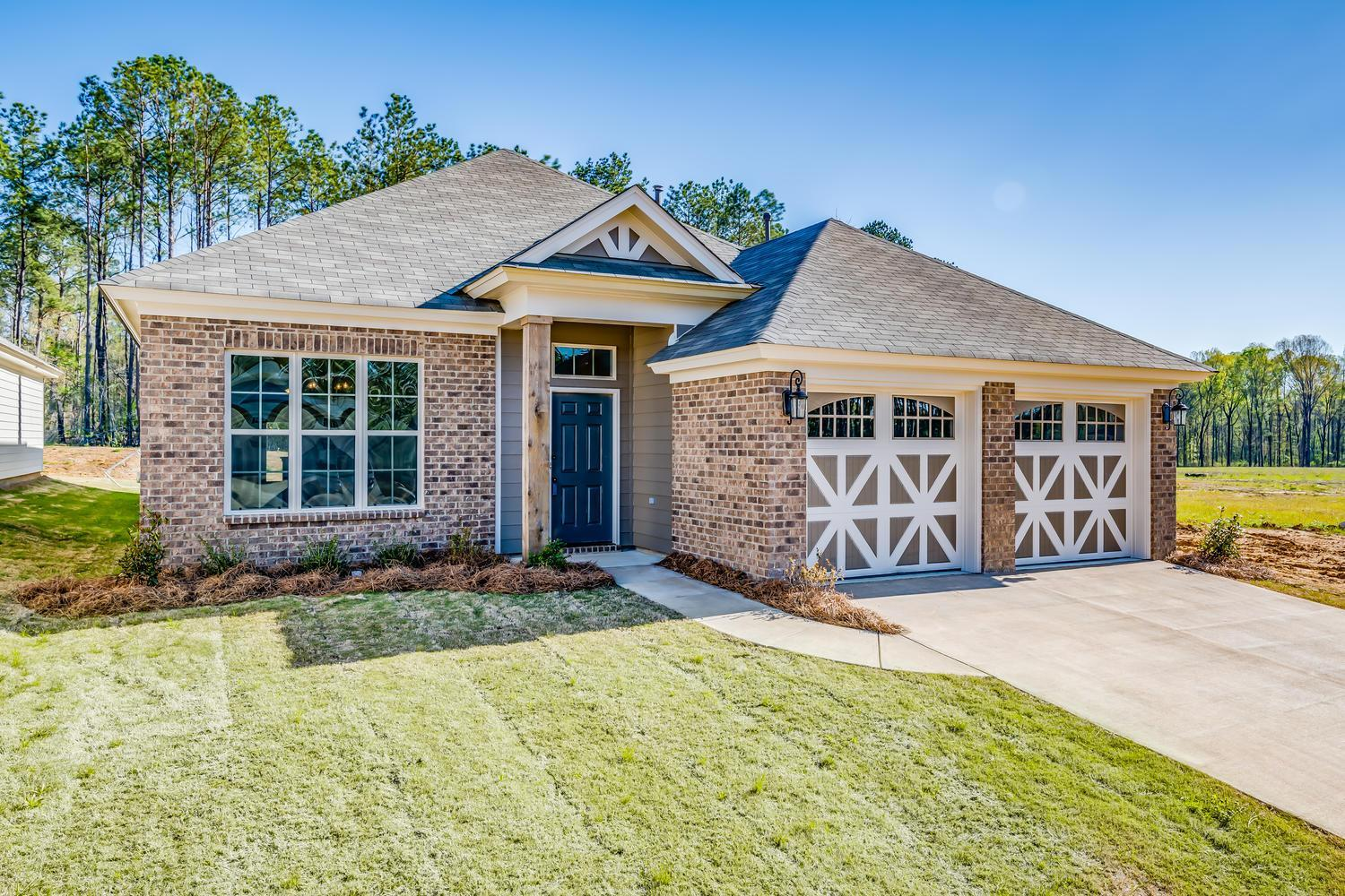 Exterior featured in the Cottonwood  By Lowder New Homes in Montgomery, AL