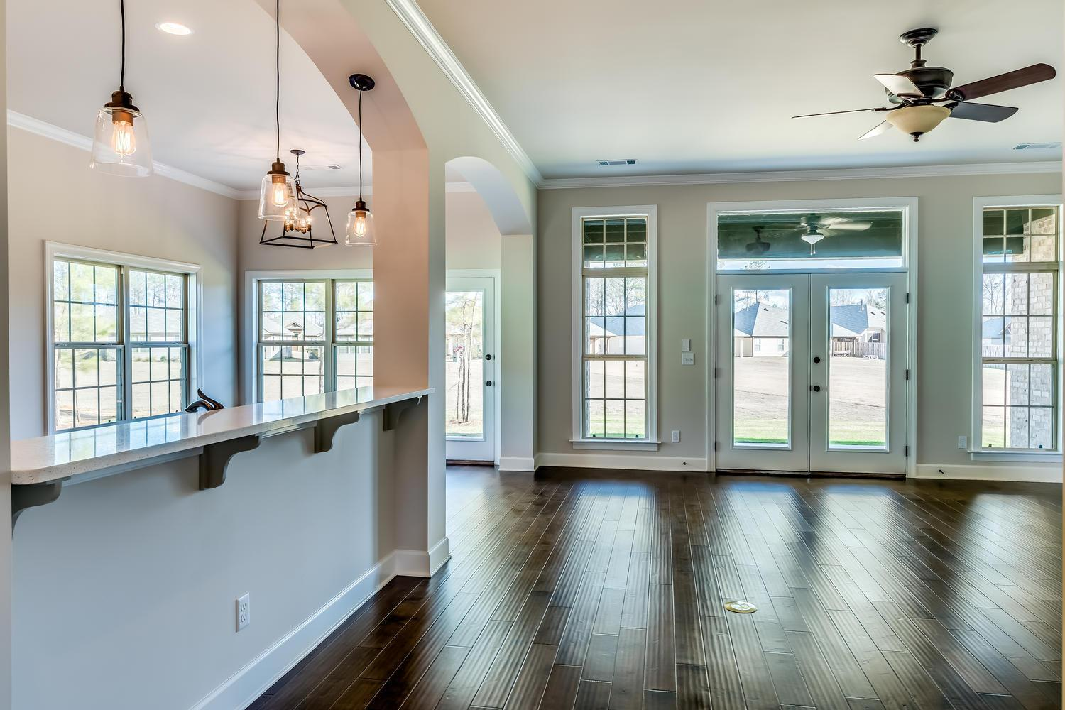 Living Area featured in the Clear Water  w/bonus Woodland Creek By Lowder New Homes