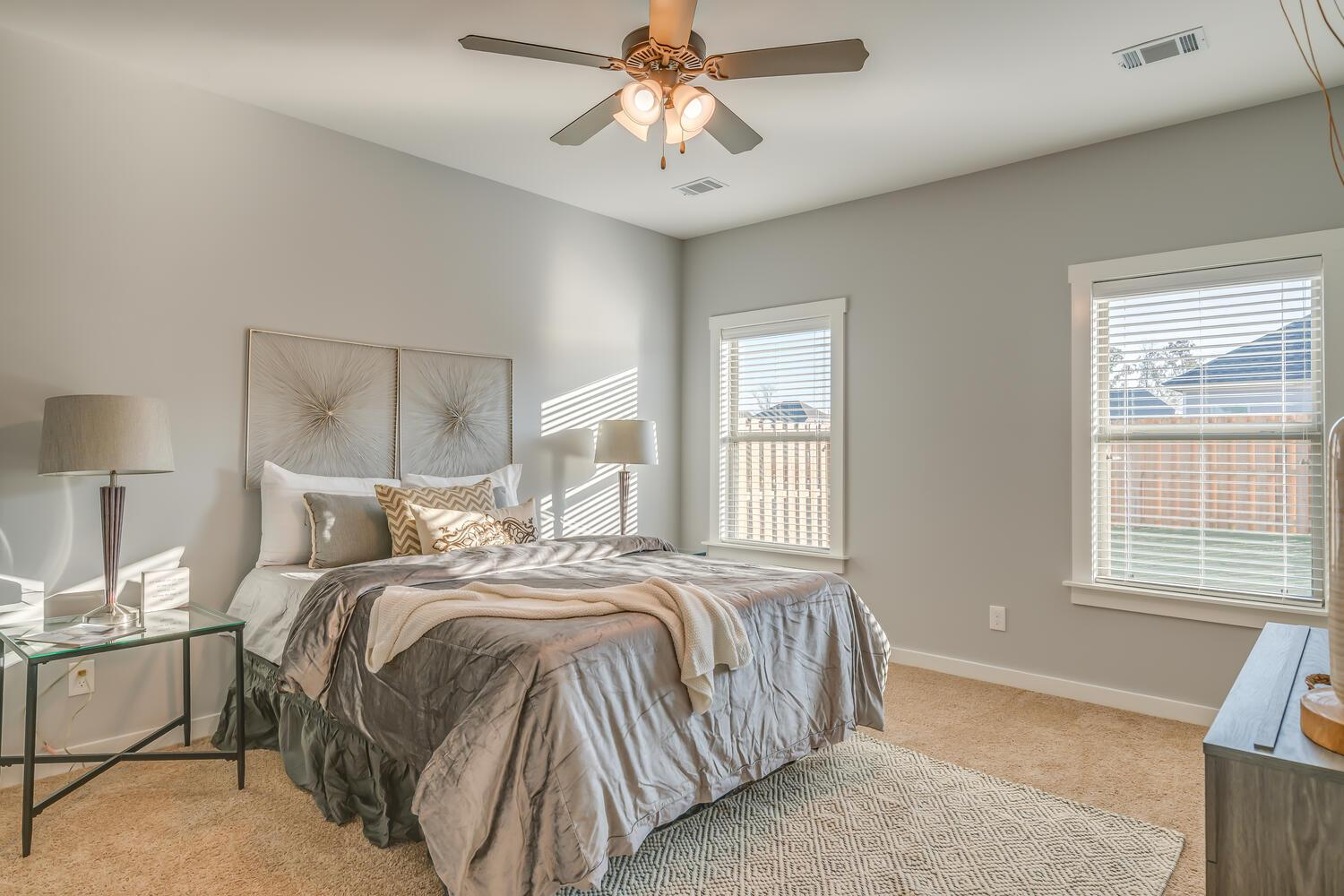 Bedroom featured in the Raleigh New Park By Lowder New Homes in Montgomery, AL
