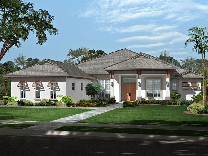 Angela Model:4 bedrooms, 4 1/2 baths, Library