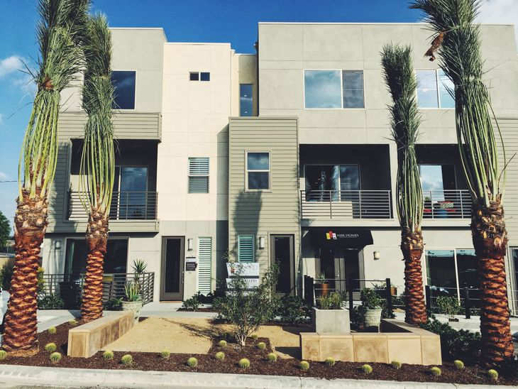 Upland Central by MBK Homes:Exterior Elevation