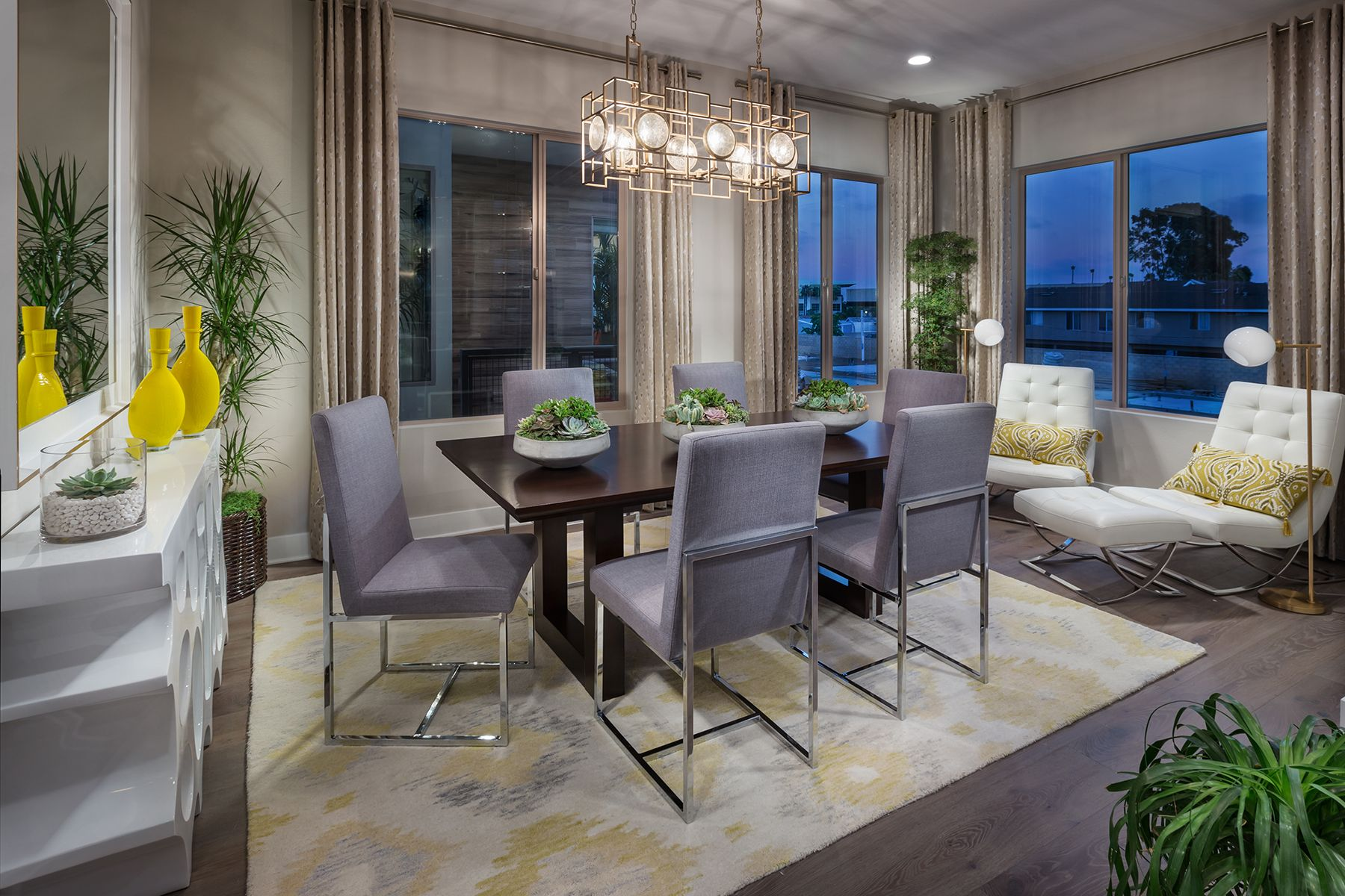 Living Area featured in the Residence 3 Balboa By MBK Homes in Orange County, CA