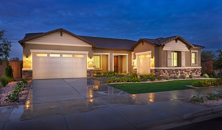 PHX-Hanford-Exterior night (Sossaman Estates) (use for Hanford I or II):The Hanford