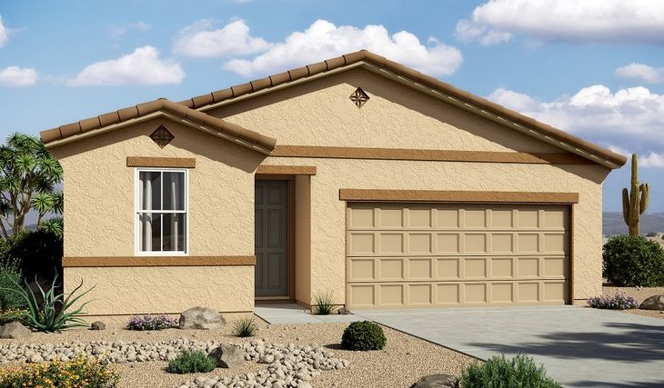Ruby-P911-SanTanHeights Elevation A:The Ruby - Elevation A