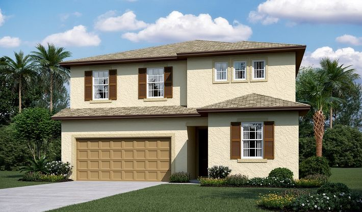 Pearl-F913-SummersCorner Elevation A:The Pearl-Elevation A