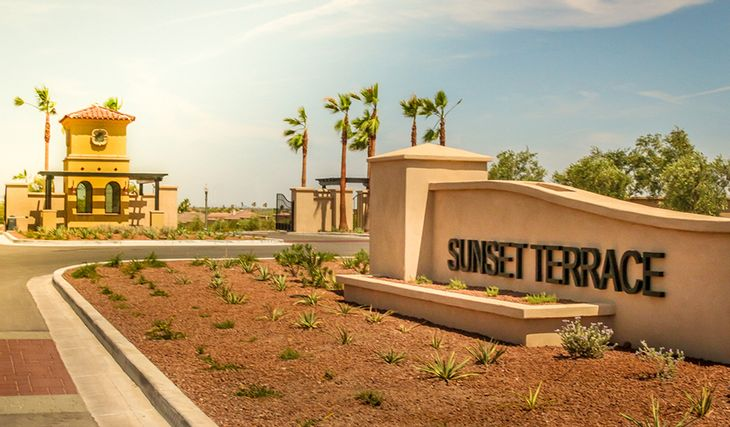 SunsetTerrace-PHX-Monument:Sunset Terrace - Entrance