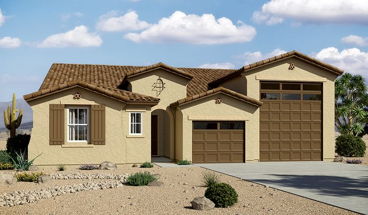 Deacon-P772-GreerRanchNorth Elevation A:The Deacon - Elevation A