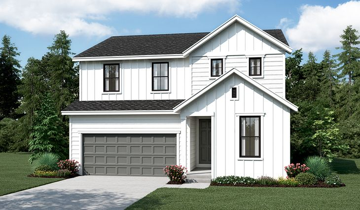 Pearl-W913-KenleyEast Elevation A:The Pearl - Elevation A