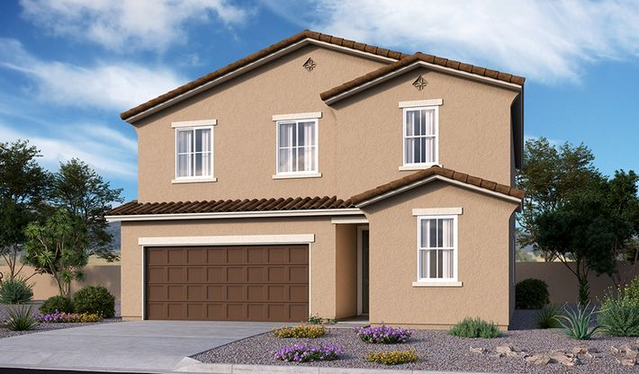 Pearl-P913-SeasonsAtTuscano Elevation A:The Pearl - Elevation A