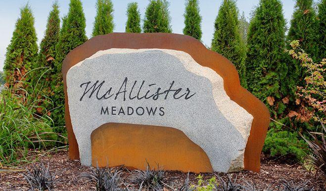 McAllisterMeadows-Monument:McAllister Meadows - Entrance