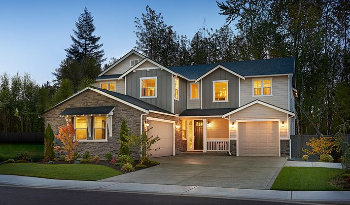 The Retreat at Sunrise in Puyallup, WA :: New Homes by ... on