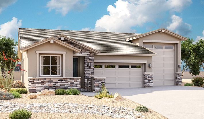 Pewter Plan at The Preserve at Spur Cross in Queen Creek, AZ ... on rv garage home communities, rv garage house plans, 3 car garage home floor plans, coachmen rv floor plans, log floor plans, rv bathroom floor plans, rv garage building plans,