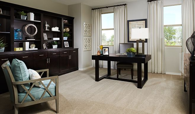 Living Area featured in the Thomas By Richmond American Homes in Denver, CO