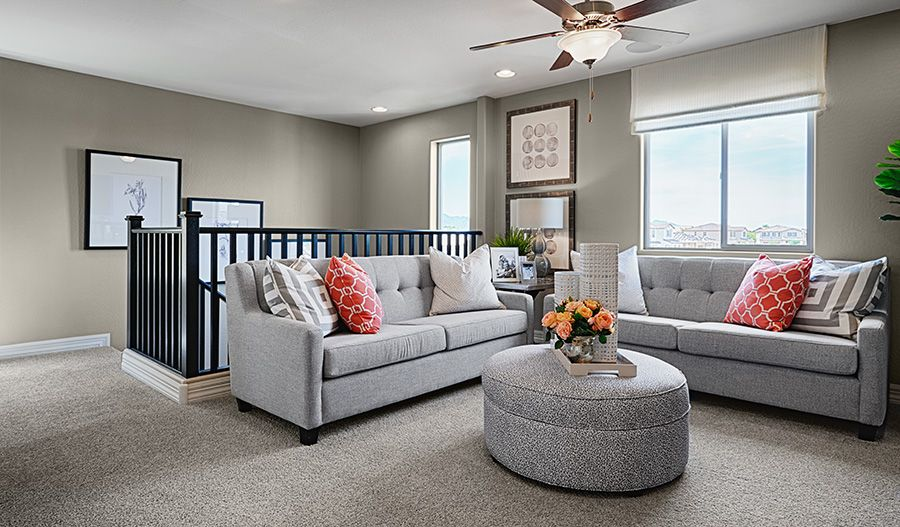Living Area featured in the Coral By Richmond American Homes in Orlando, FL